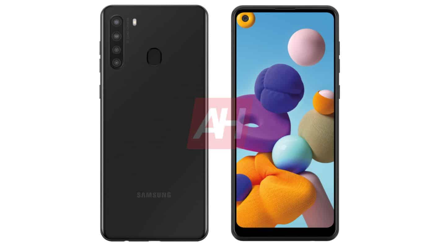 Exclusif : Le Samsung Galaxy A21 Sports Quad-Cameras & arrive aux Etats-Unis