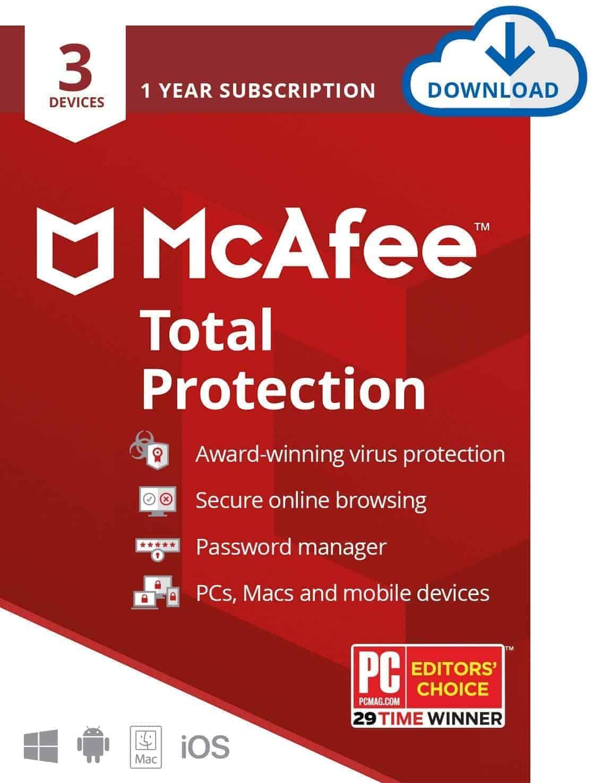 McAfee Total Protection - Amazon