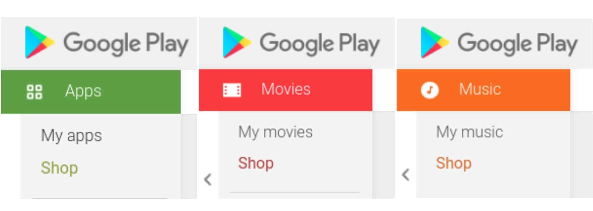 AH Google Play apps music and games