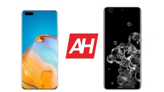 AH Huawei P40 Pro Plus vs Samsung Galaxy S20 Ultra comparison