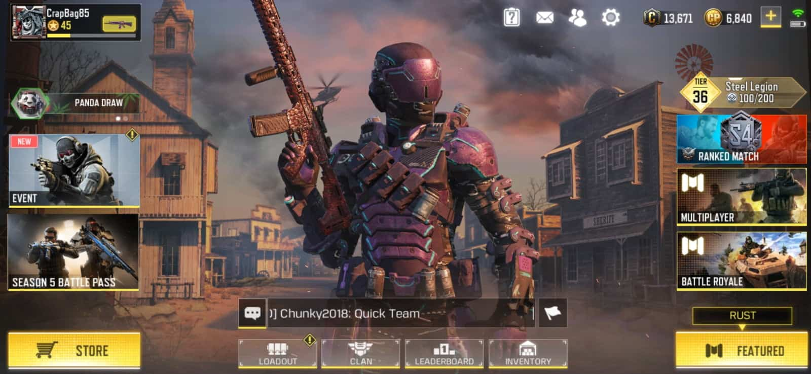 call  duty mobile  huge ui improvements  season