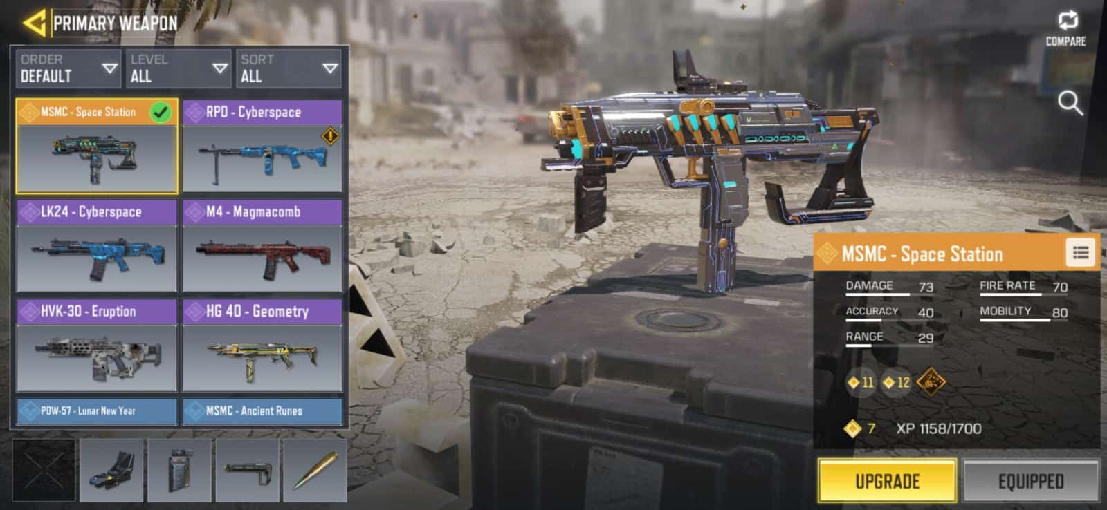 Call of Duty Mobile Space Station MSMC 1