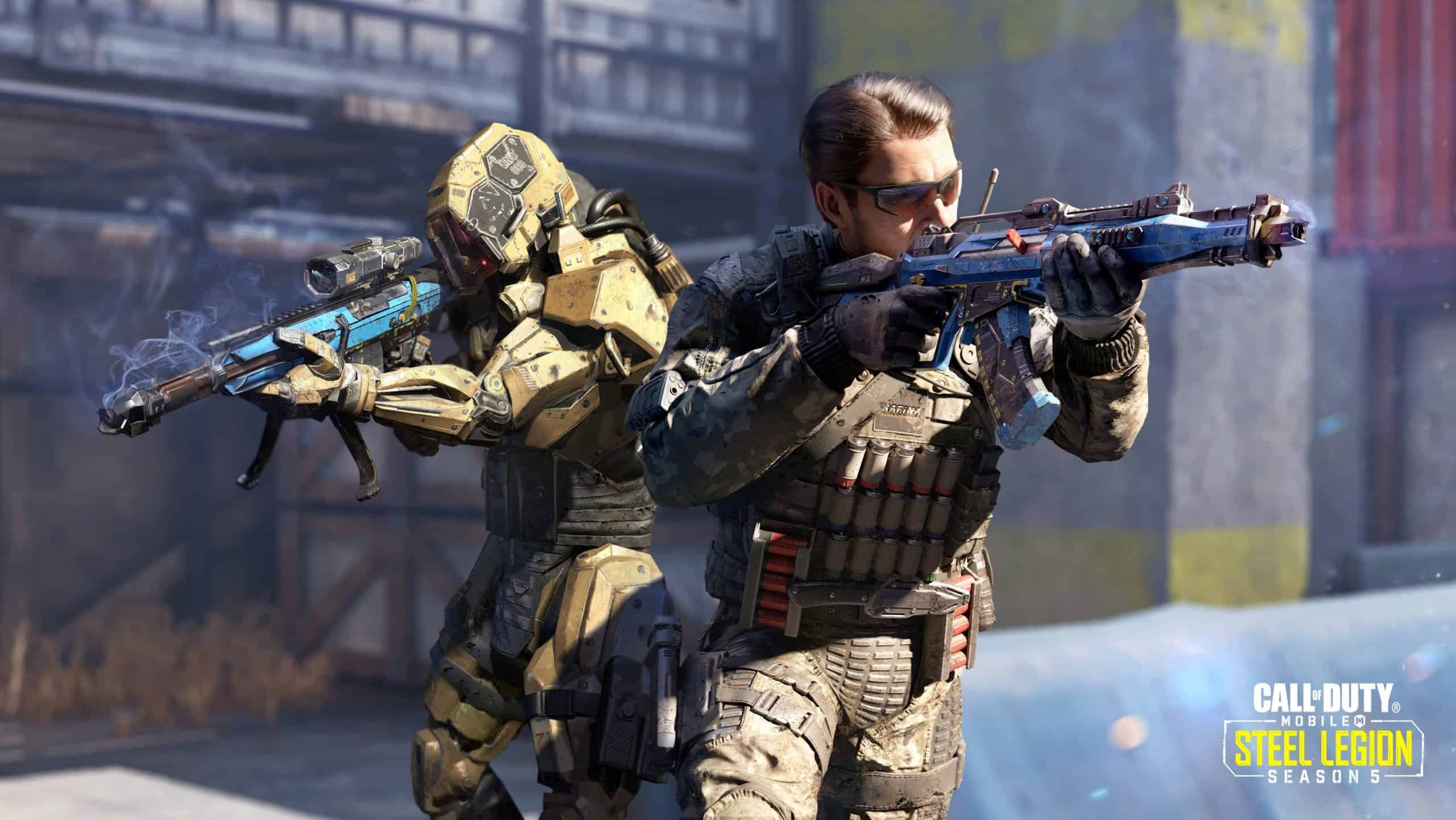 Call Of Duty Mobile Season 5 Brings Robots Tons Of Cool Loot
