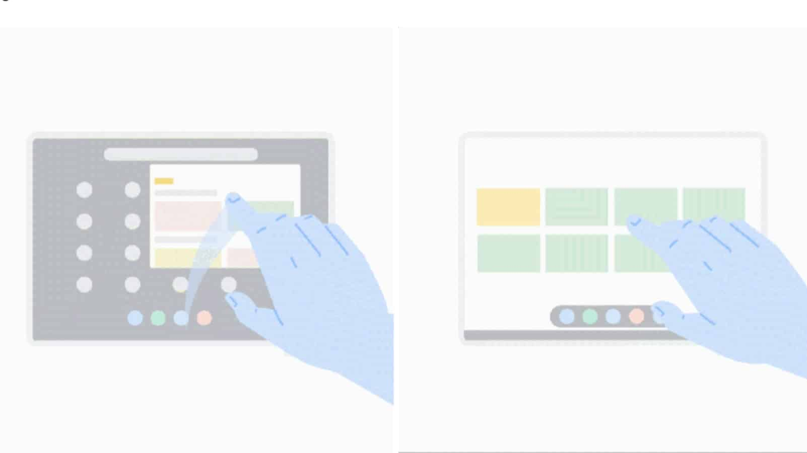 Chrome OS 81 presser gif screenshots