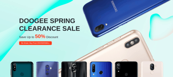 DOOGEE Spring clearance sale 2020