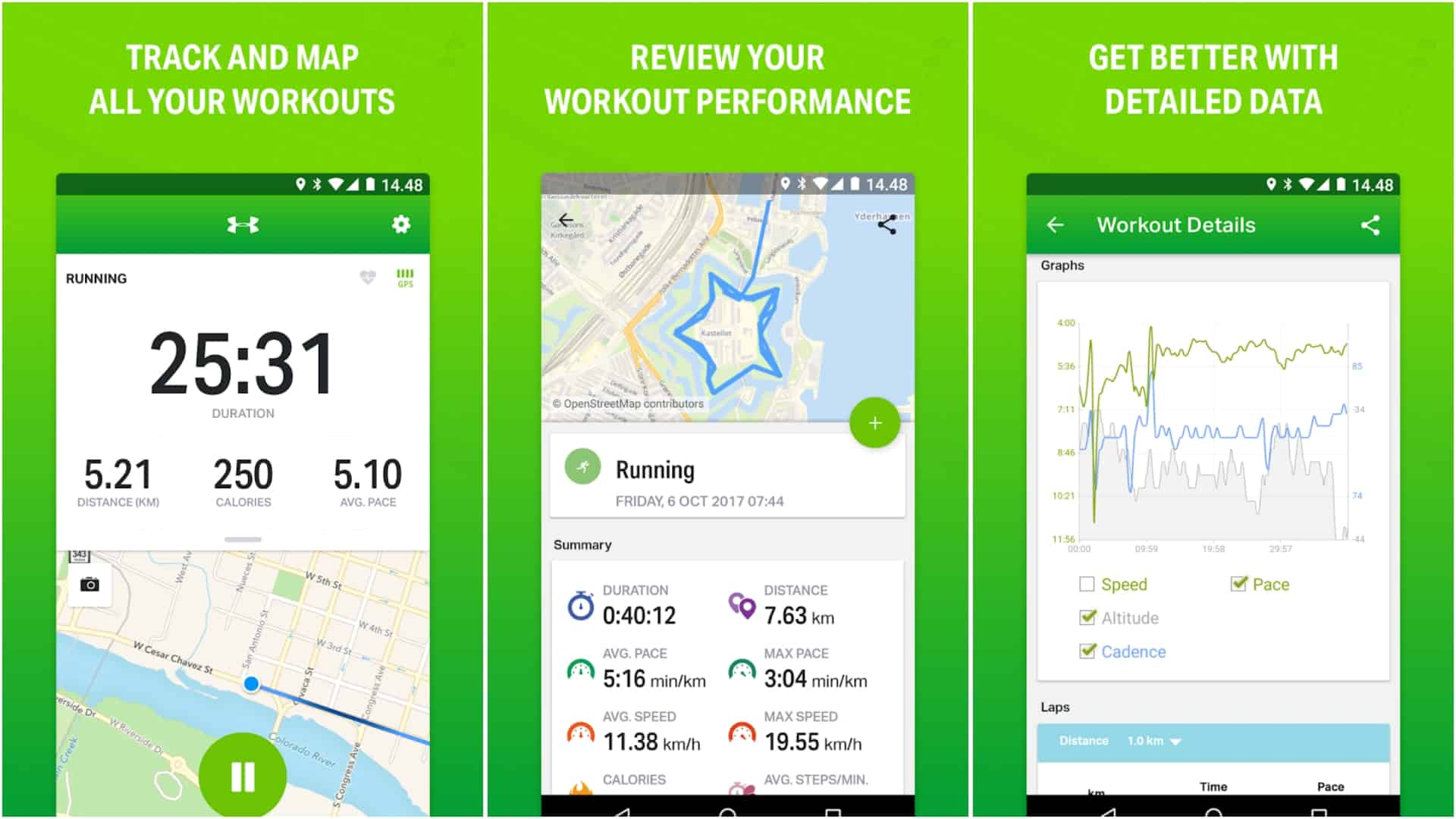 Endomondo app image April 2020