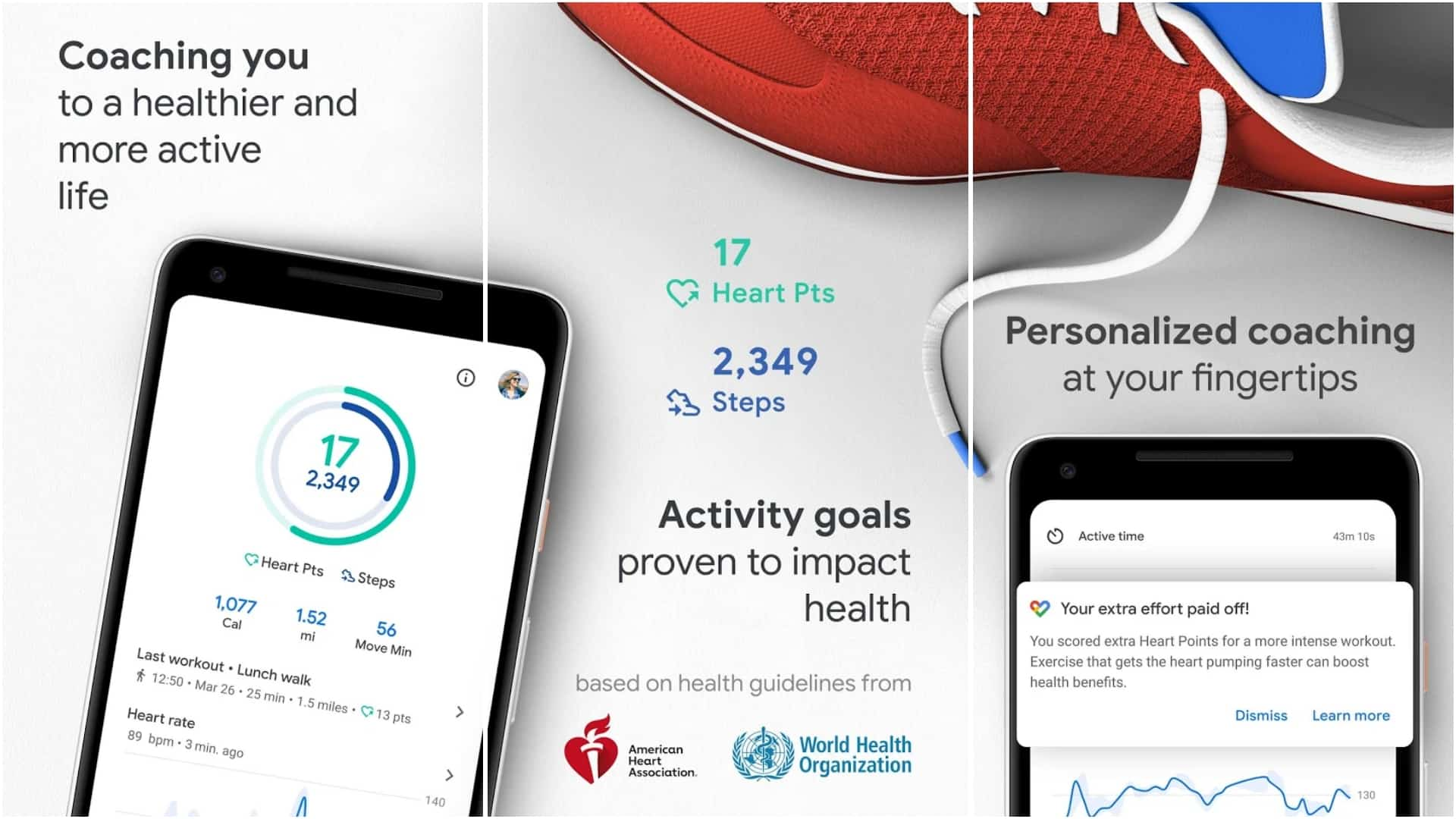 Google Fit app image April 2020