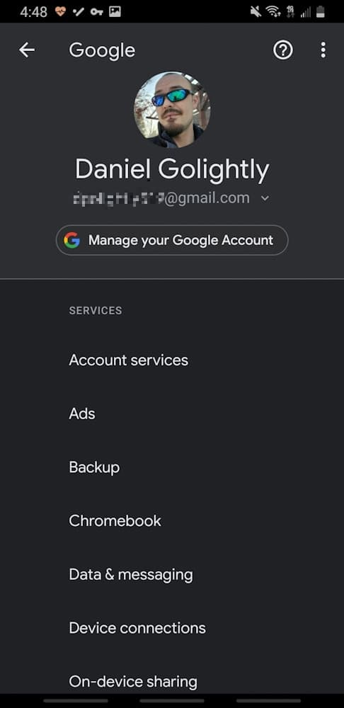 How to see manage google chrome data 014