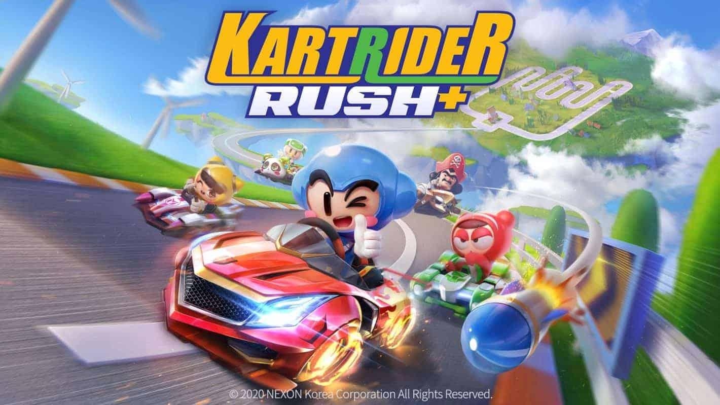 Kartrider Rush Looks Like A Fun Alternative To Mario Kart Tour