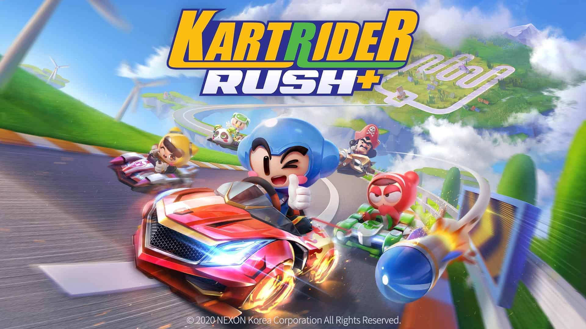 KartRider Rush+ Looks Like A Fun Alternative To Mario Kart Tour