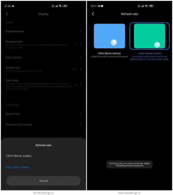 MIUI 12 screenshot leak 4
