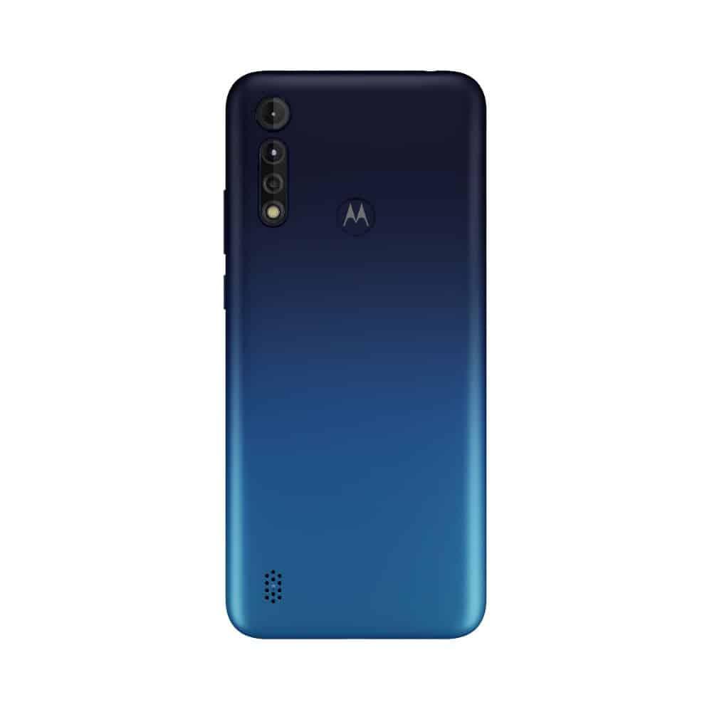 Moto G8 Power Lite Royal Blue Backside