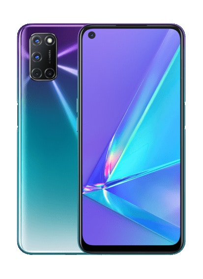 OPPO A92 Aurora Purple leak 1