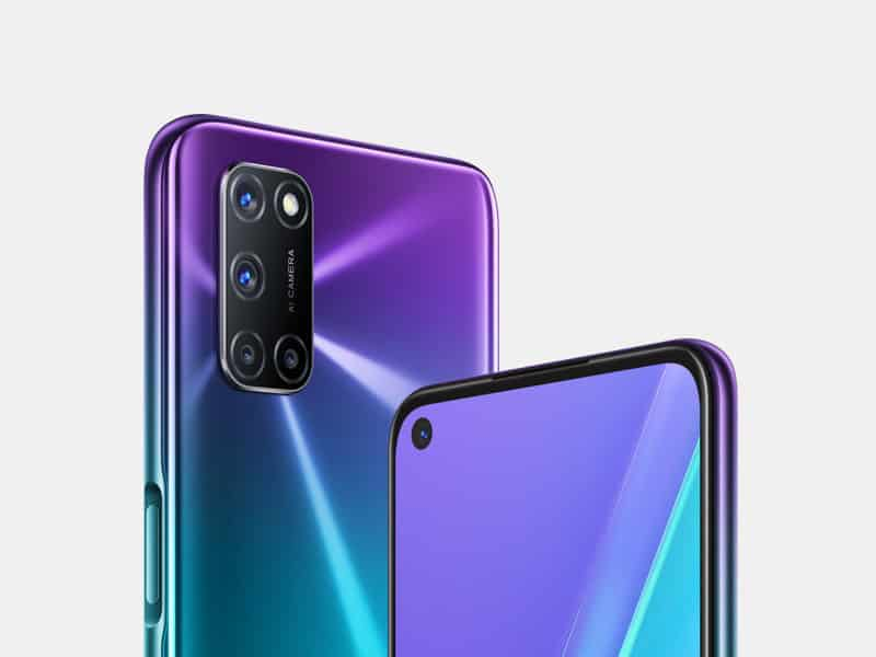 OPPO A92 Aurora Purple leak 2