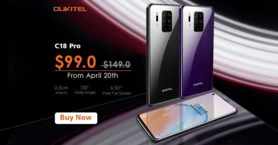 OUKITEL C18 Pro sale