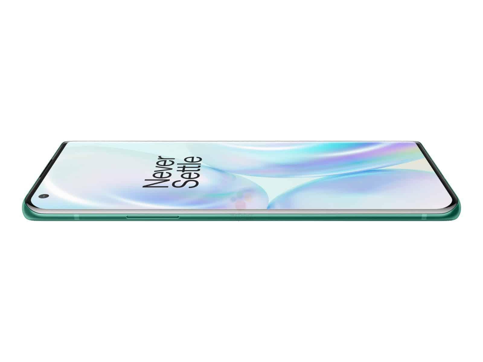 OnePlus 8 Pro Glacial Green render leak 5