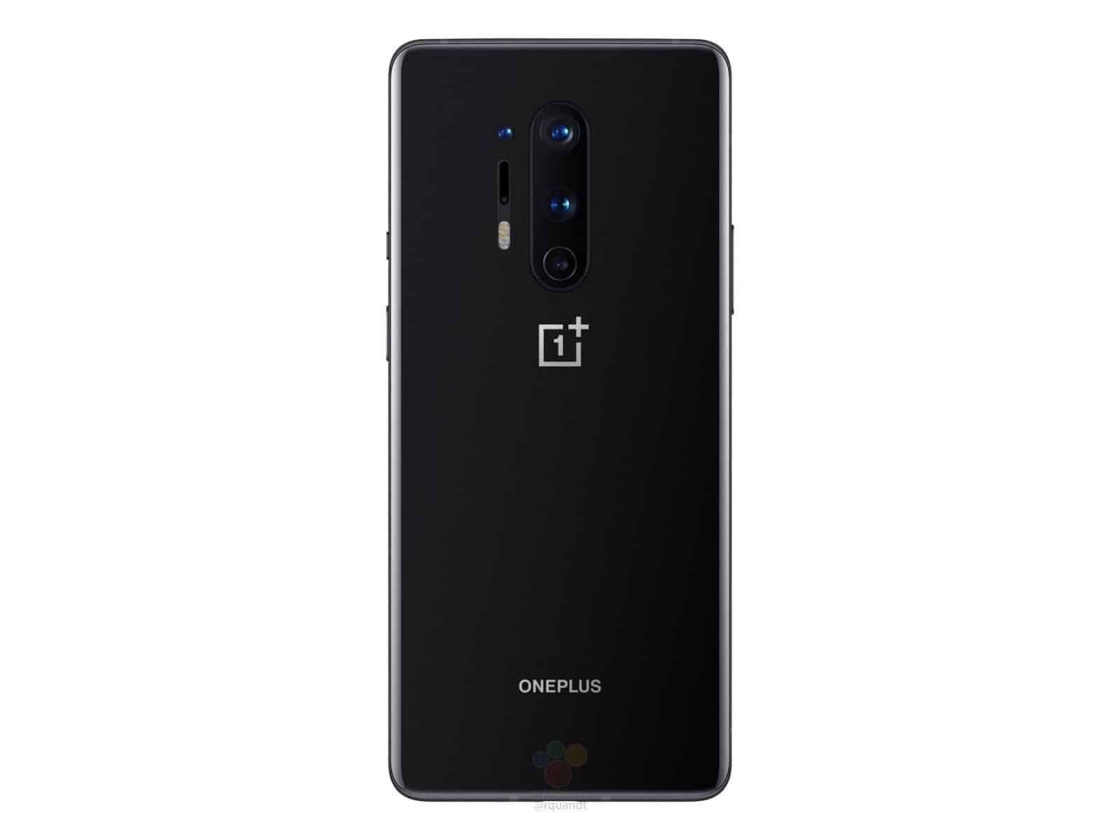 OnePlus 8 Pro Oxyn Black render leak 3