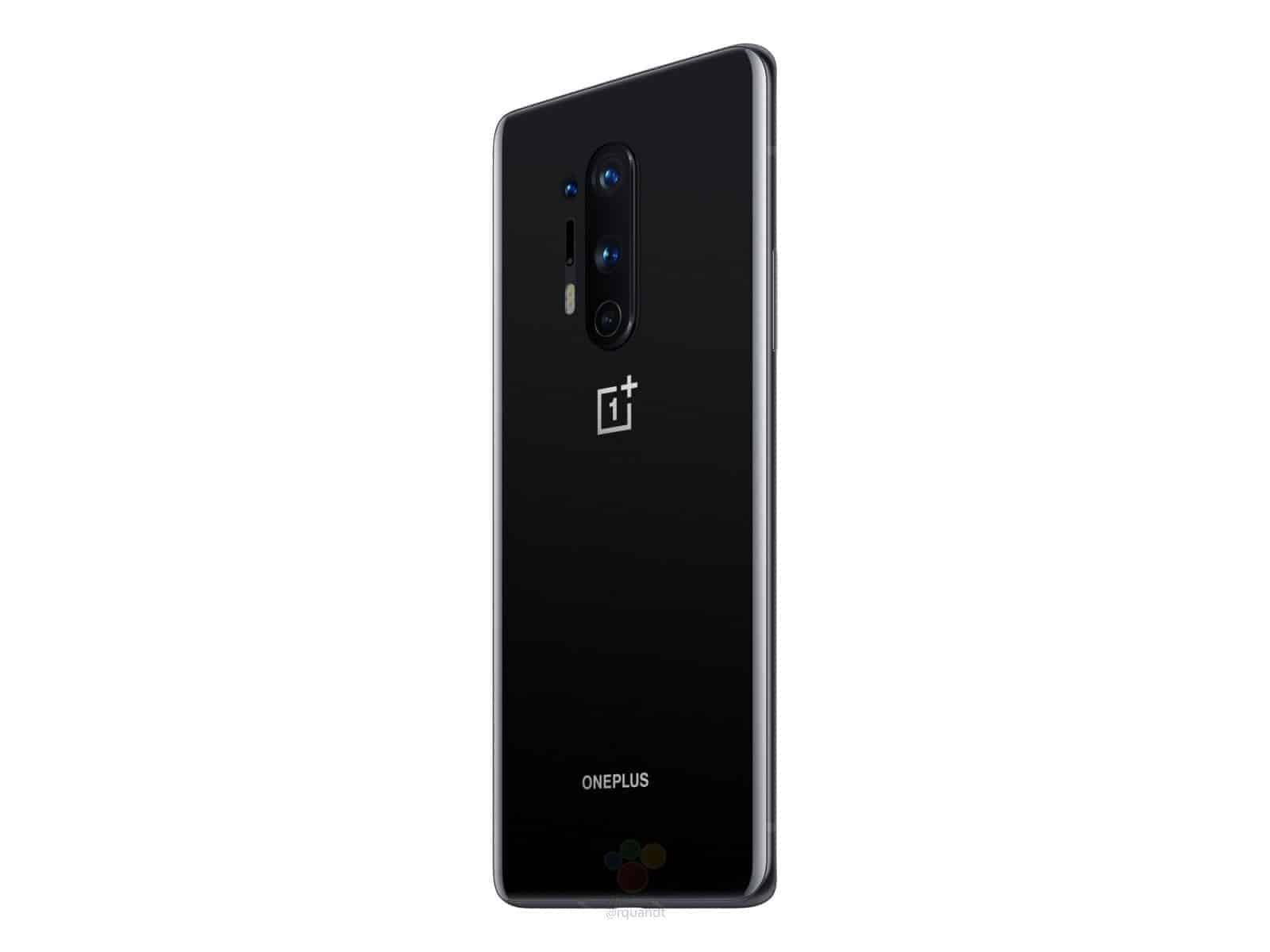 OnePlus 8 Pro Oxyn Black render leak 4
