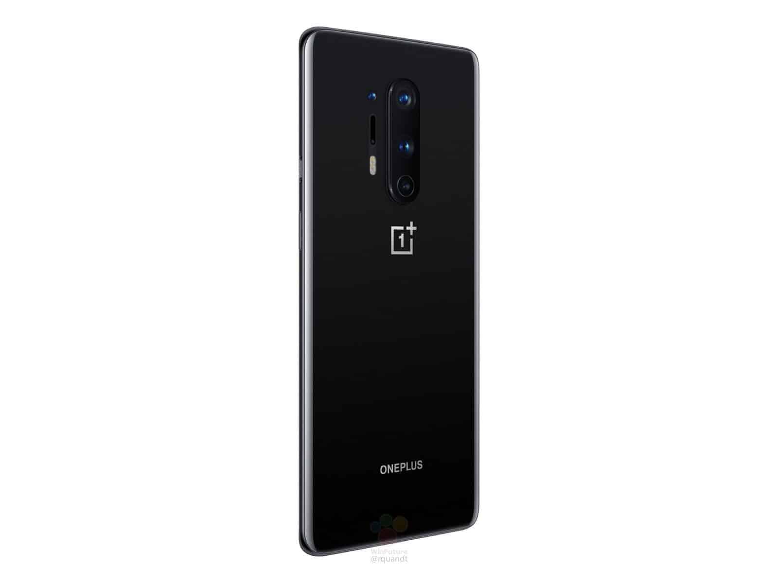 OnePlus 8 Pro Oxyn Black render leak 6