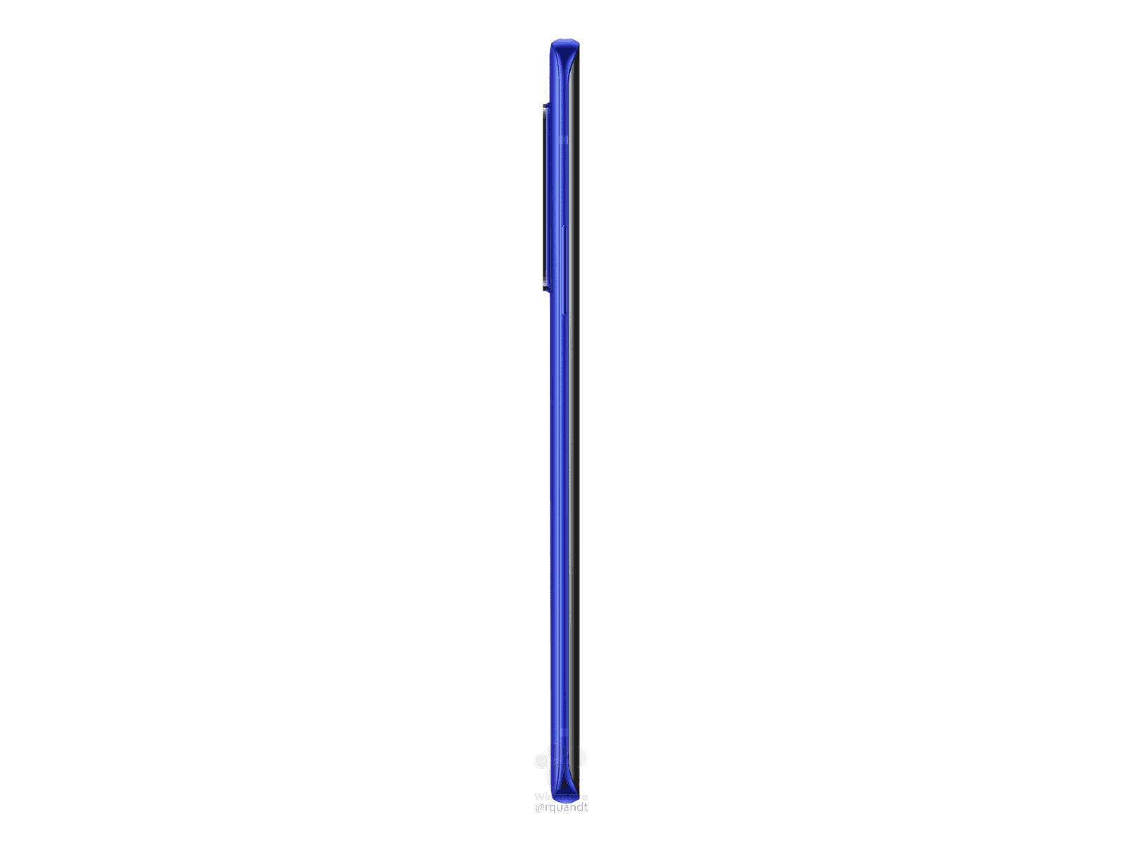 OnePlus 8 Pro Ultramarine Blue render leak 7