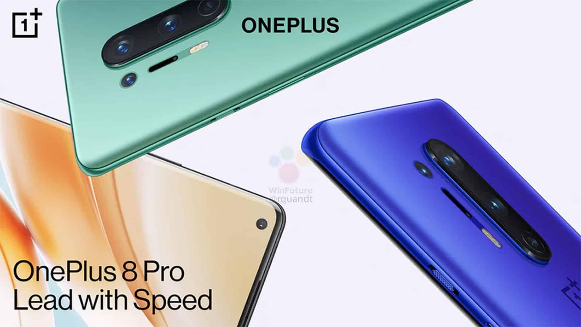 OnePlus 8 Pro marketing materials leak 11