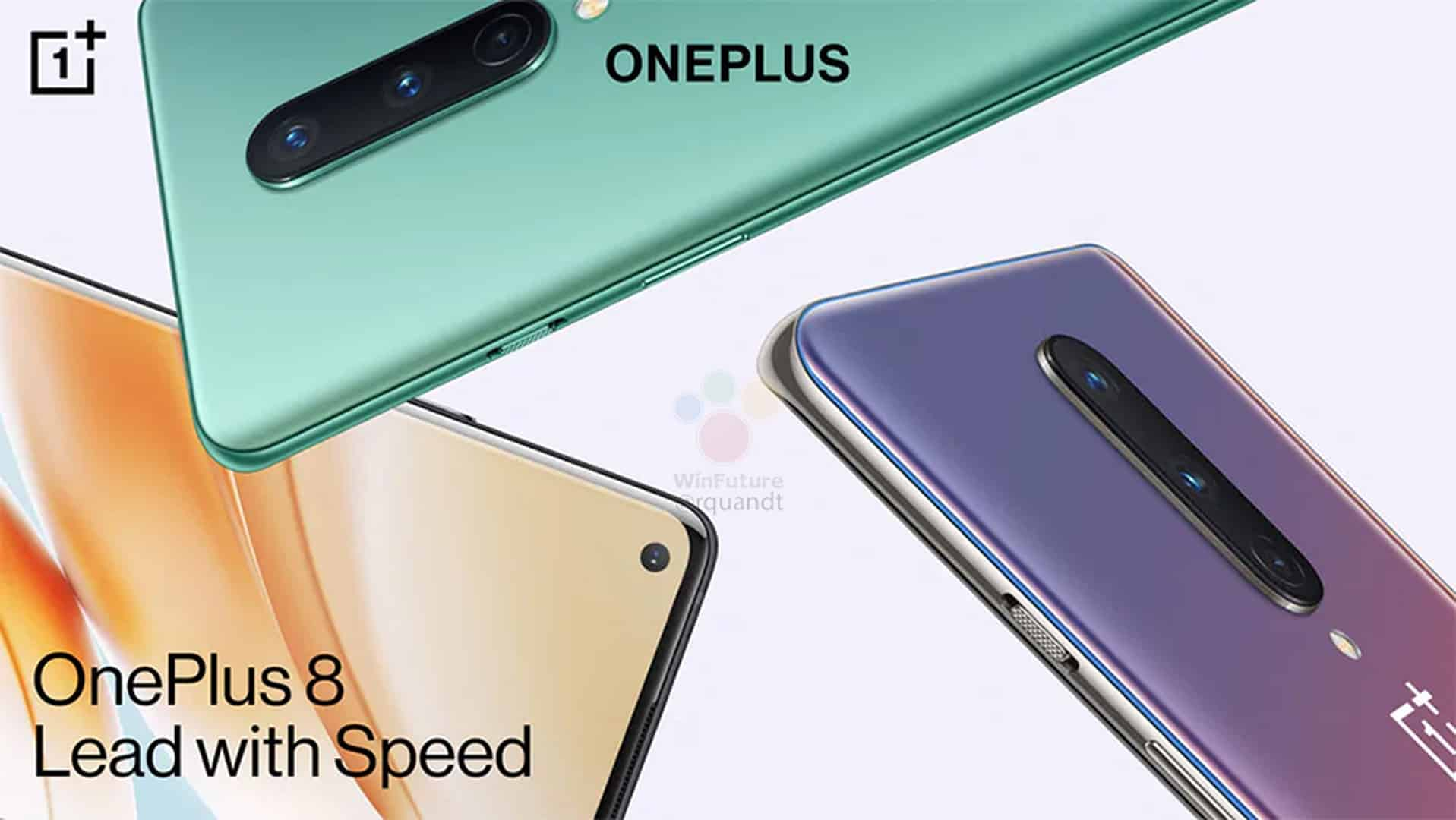 OnePlus 8 marketing materials leak 11
