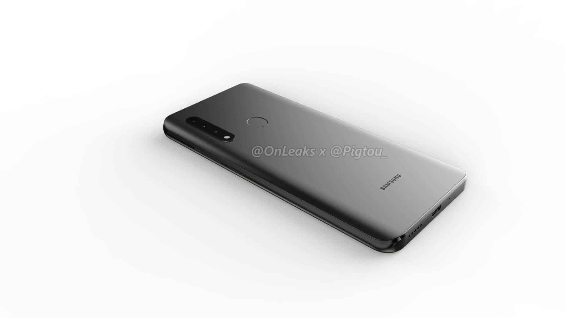 Samsung first smartphone pop up camera leak 5