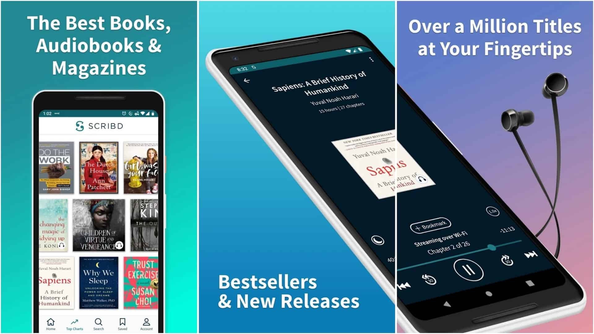Scribd app image April 2020