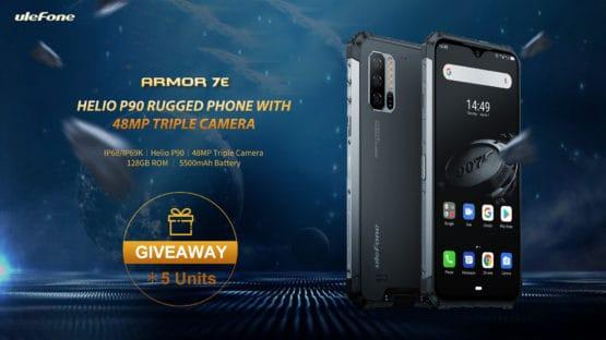 Ulefone Armor 7E giveaway