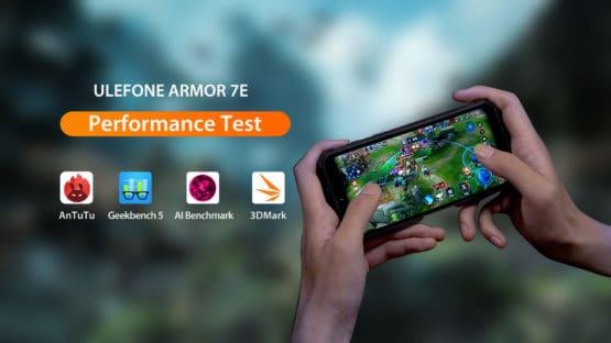 Ulefone Armor 7E performance test 1