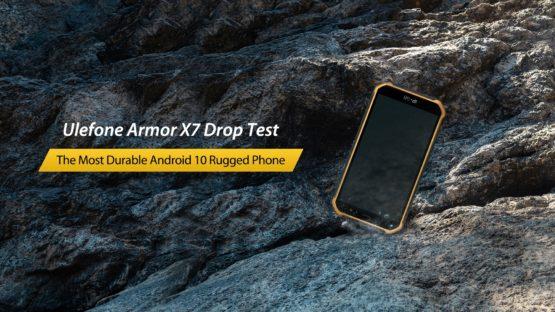 Ulefone Armor X7 drop test