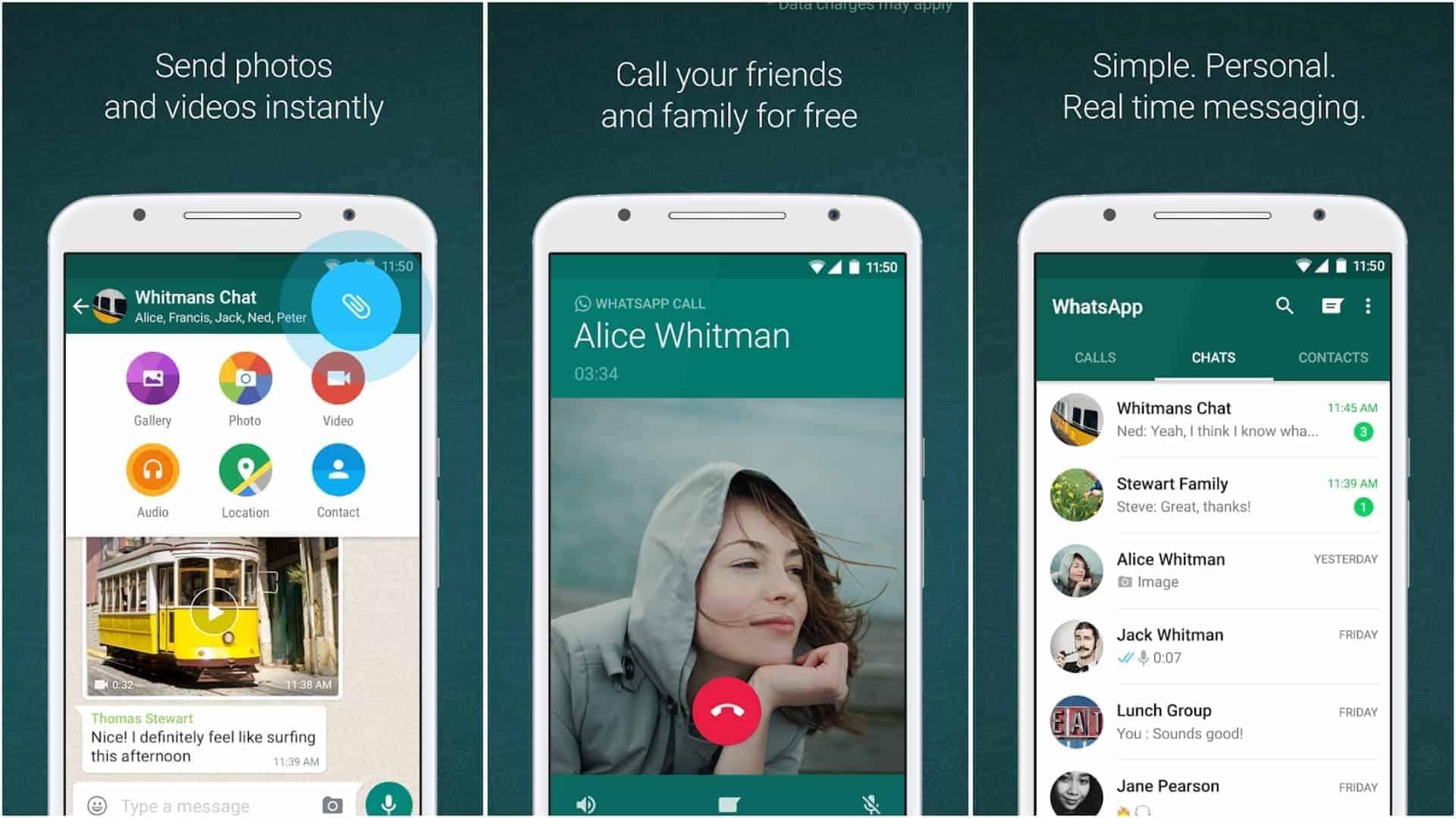 WhatsApp app image April 2020