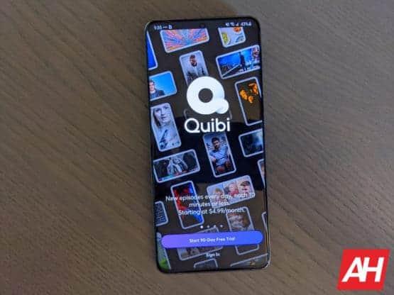 quibi app AM AH