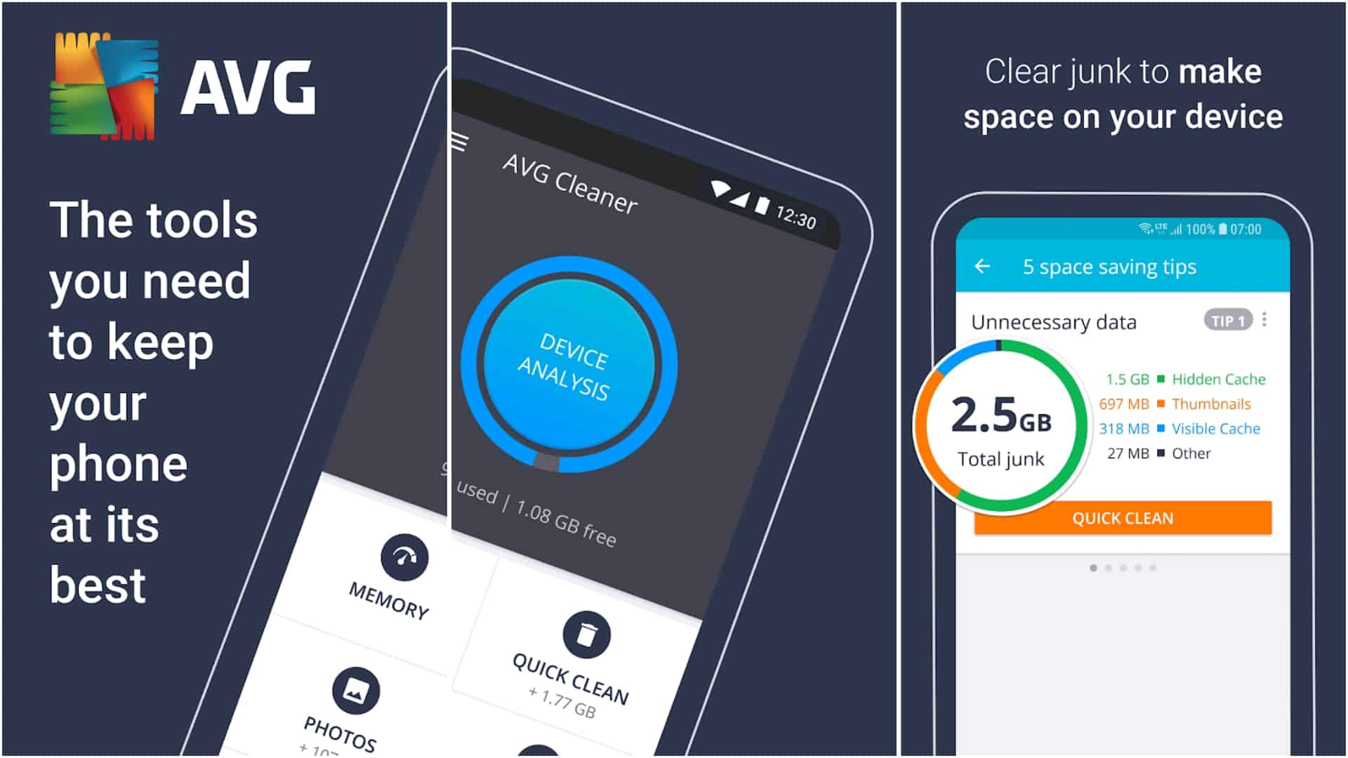 AVG Cleaner app image May 2020