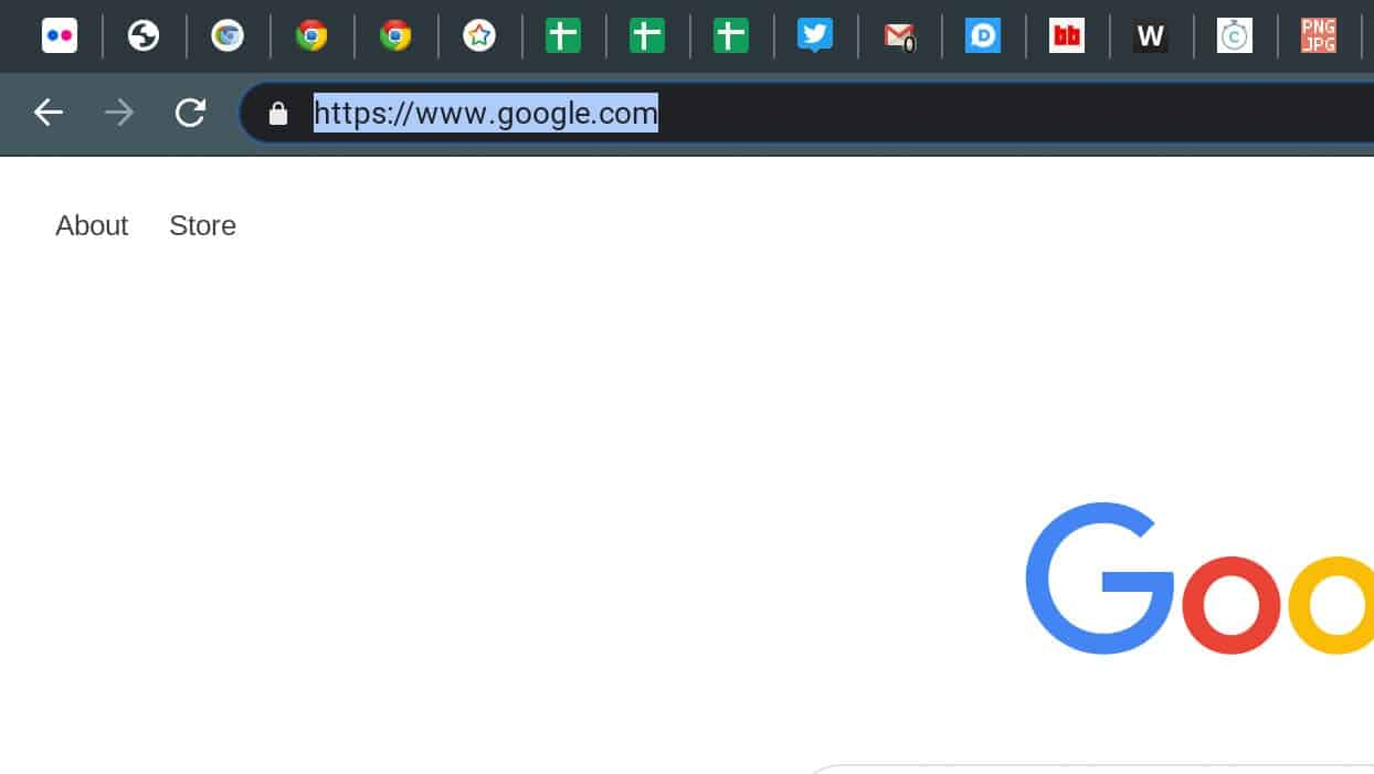 Chrome Omnibox jump Shortcuts How To