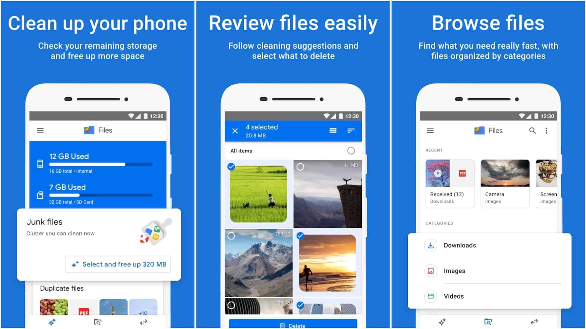 Files by Google app image May 2020