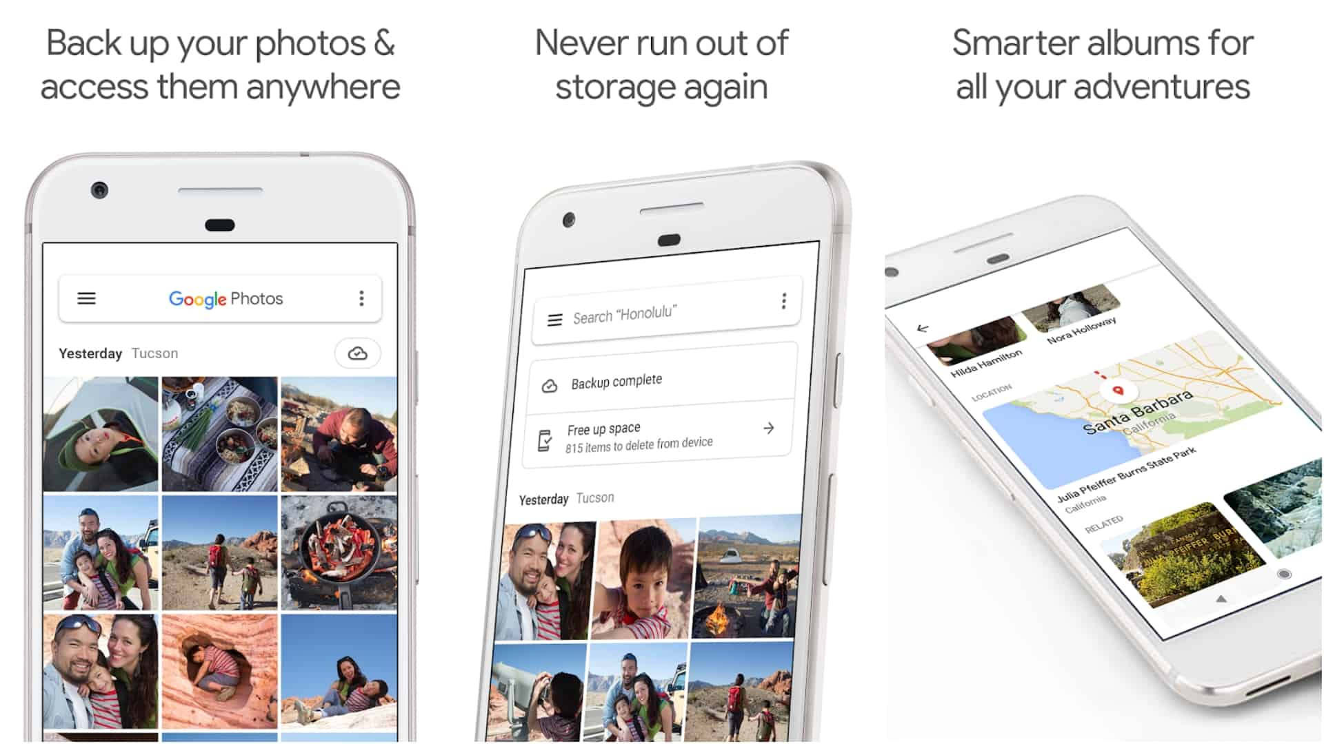Google Photos app image May 2020