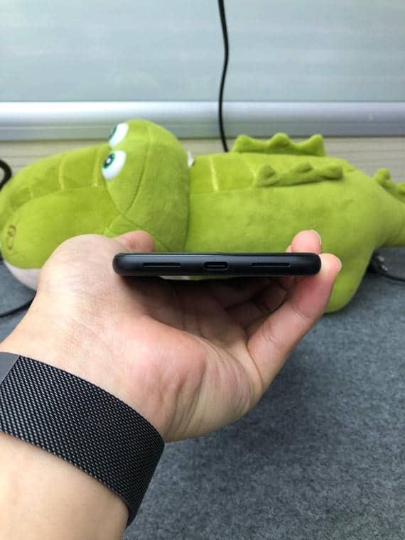 Google Pixel 4 XL gray prototype 5