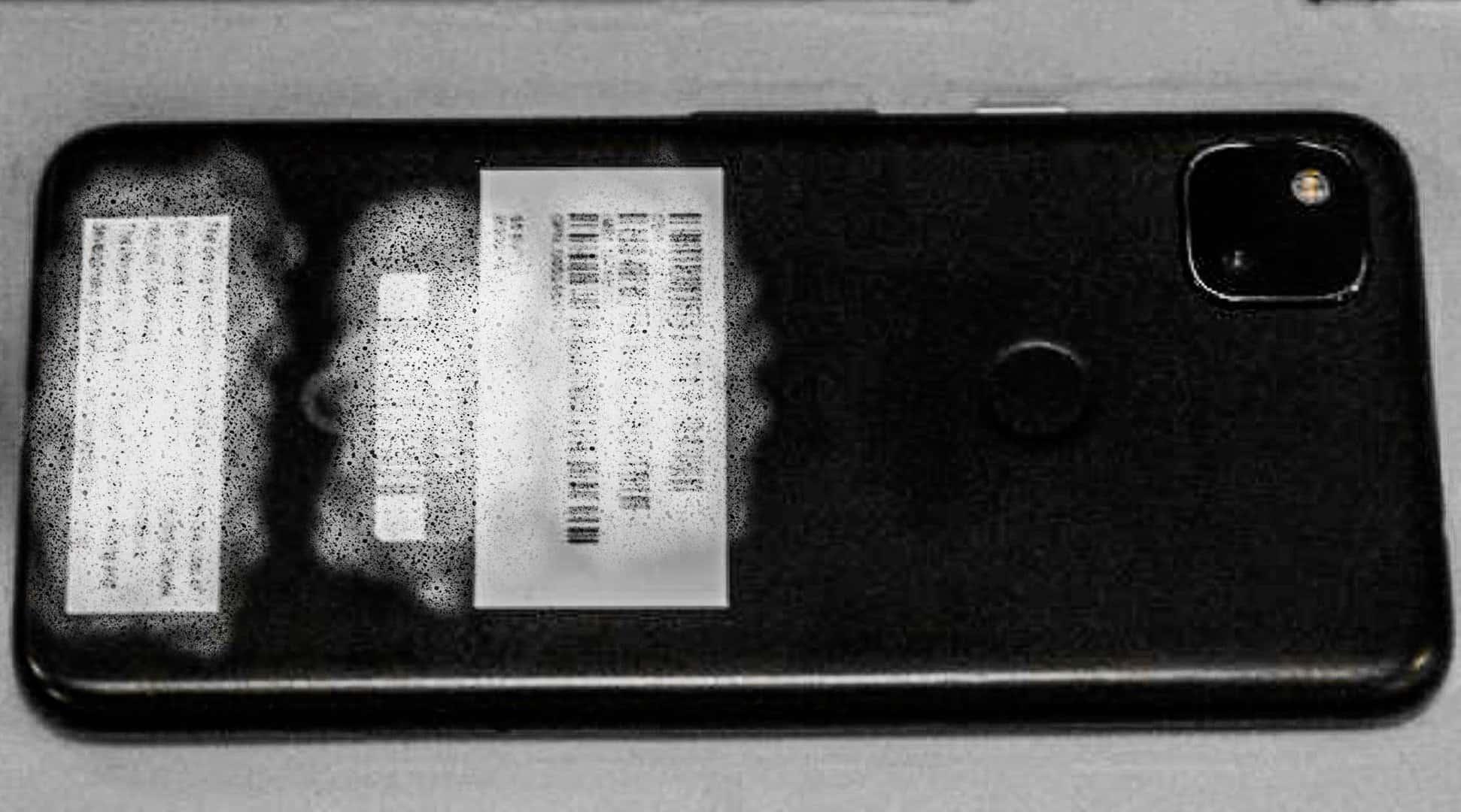 Google Pixel 4a Black Leak