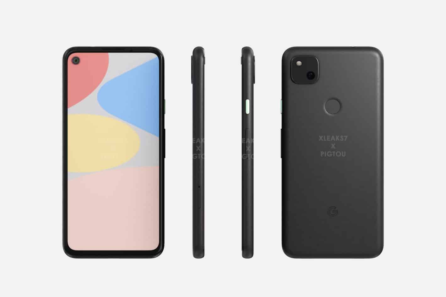 Google Pixel 4a, with 6GB of RAM, listed on Geekbench