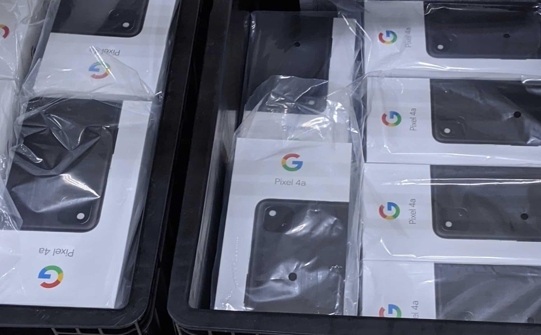 Google Pixel 4a Retail Box Leak