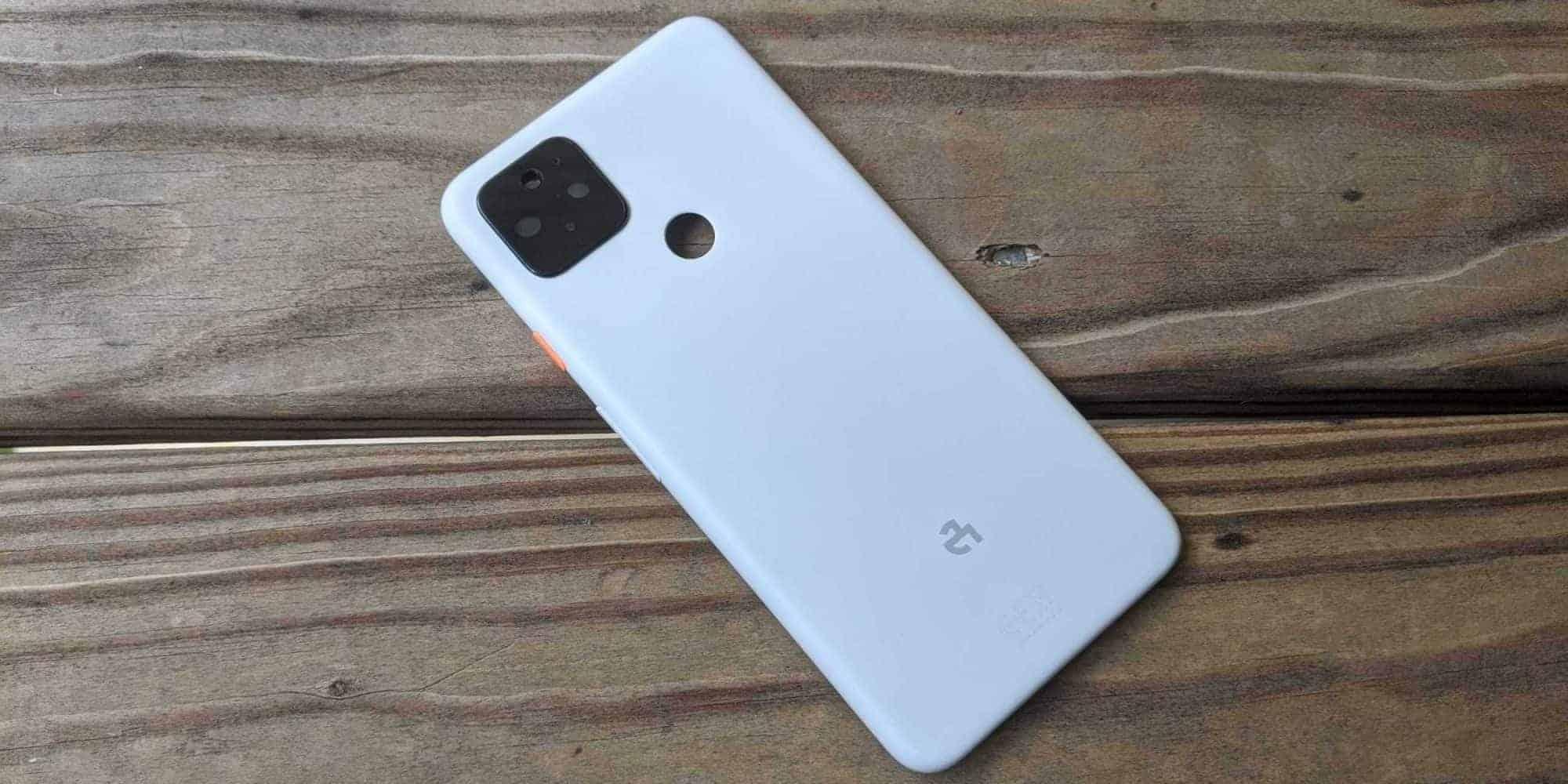 Google Pixel 4a XL back cover leak 1