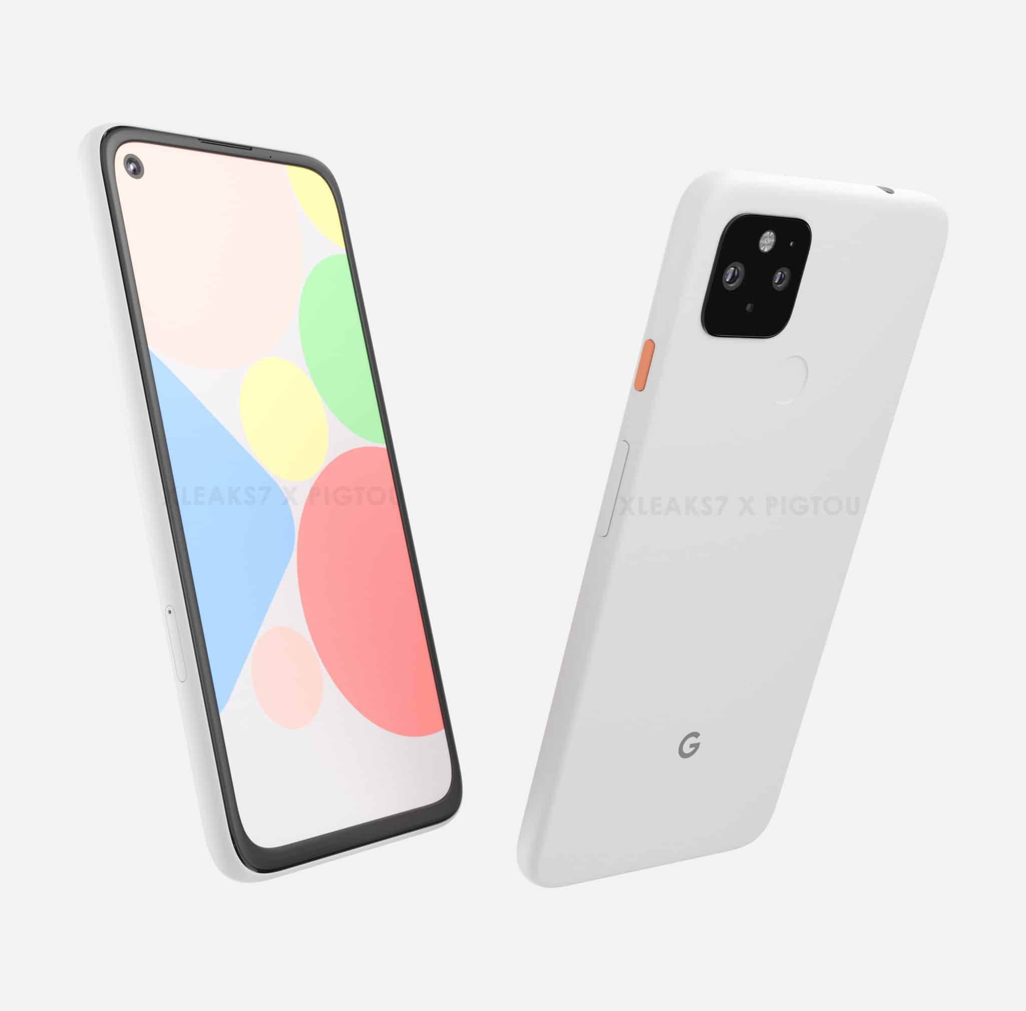 Google Pixel 4a XL render leak 1