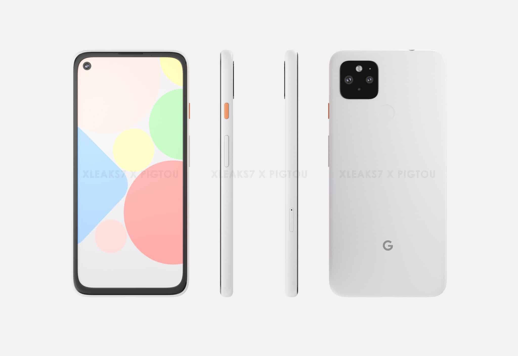 Google Pixel 4a XL render leak 2