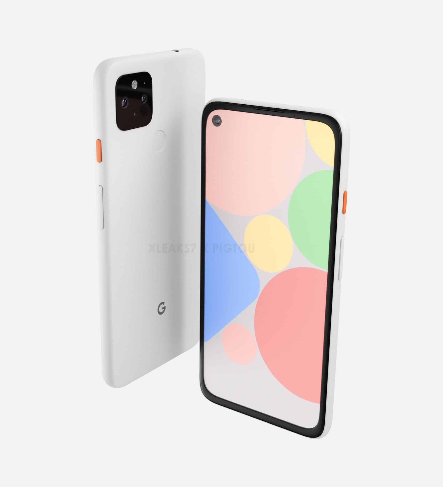 Google Pixel 4a XL render leak 4