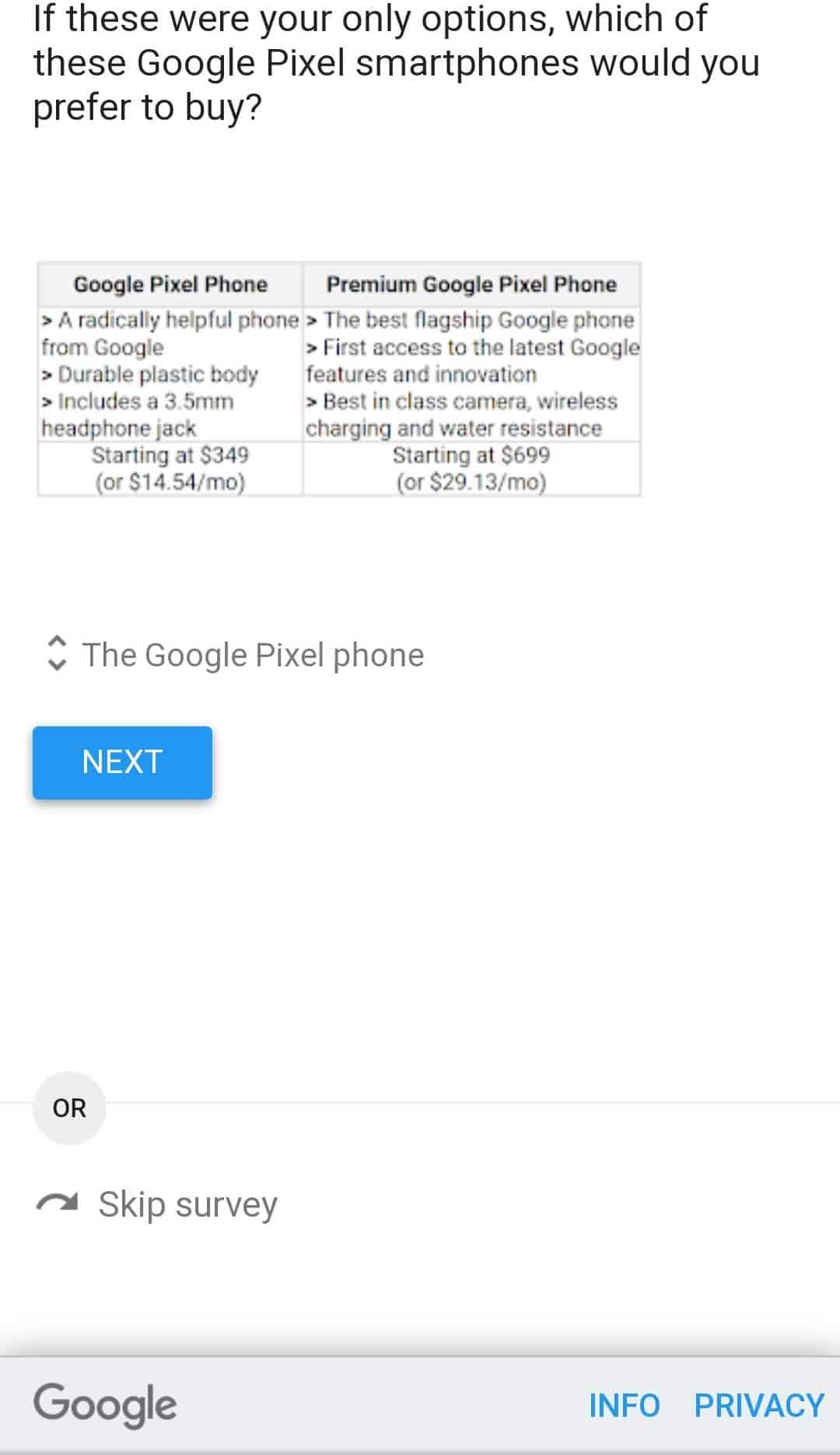 Google Pixel 5 and Google Pixel 4a price leak