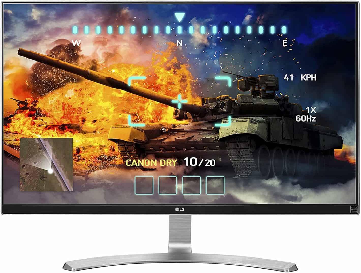 LG 27UD68 W 27 Inch 4K UHD IPS Monitor