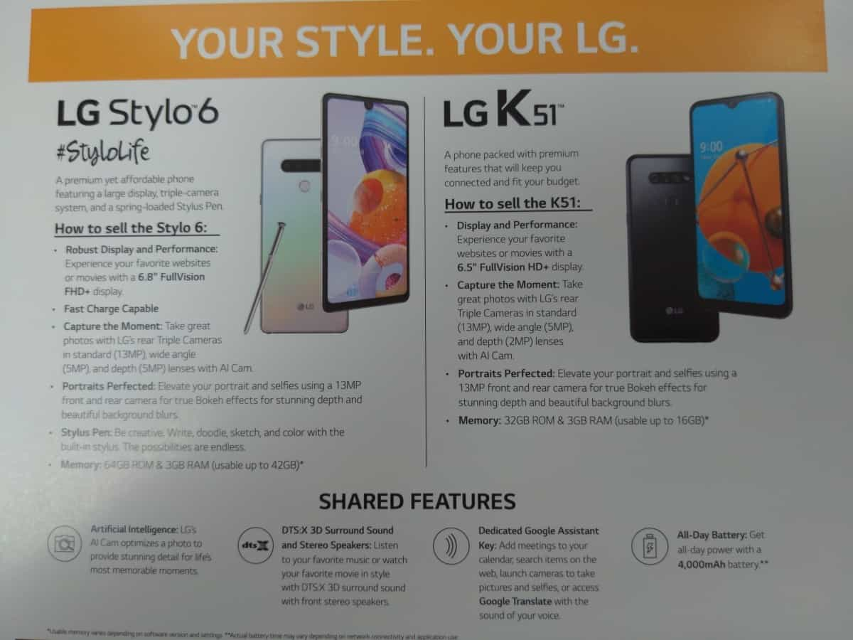 LG Stylo 6 specs boost mobile us launch