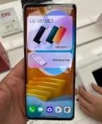LG Velvet hands-on video image 3