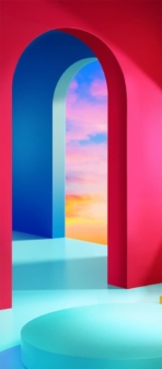 LG Velvet official wallpaper 1